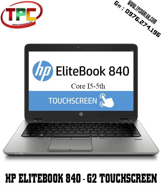 Laptop HP Elitebook 840 - G2 / CORE I5 5300U, RAM 4GB, SSD120GB, Màn hình cảm ứng | Laptop Cũ BMT