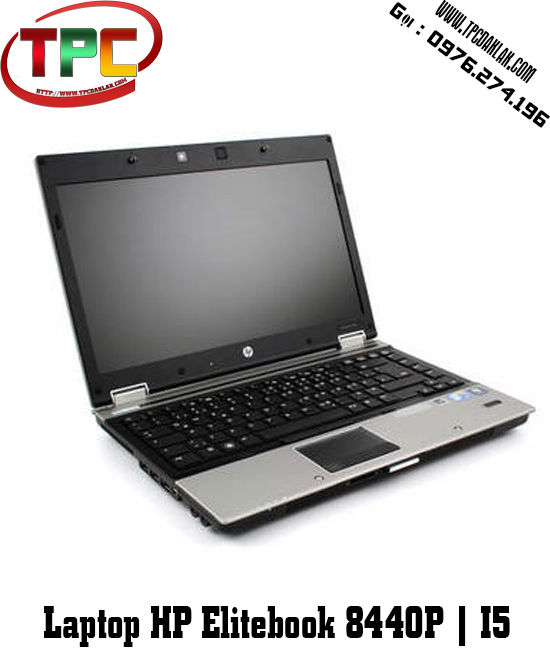 Laptop Hp 8440p | I5 520M | RAM 4GB | HDD 250GB | LCD  14 inch | Laptop Hp cũ Đak Lak