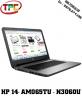 Laptop HP 14 am065TU N3060/RAM 4GB/HDD 500GB | LCD 14INCHES | Laptop Cũ Đak Lak