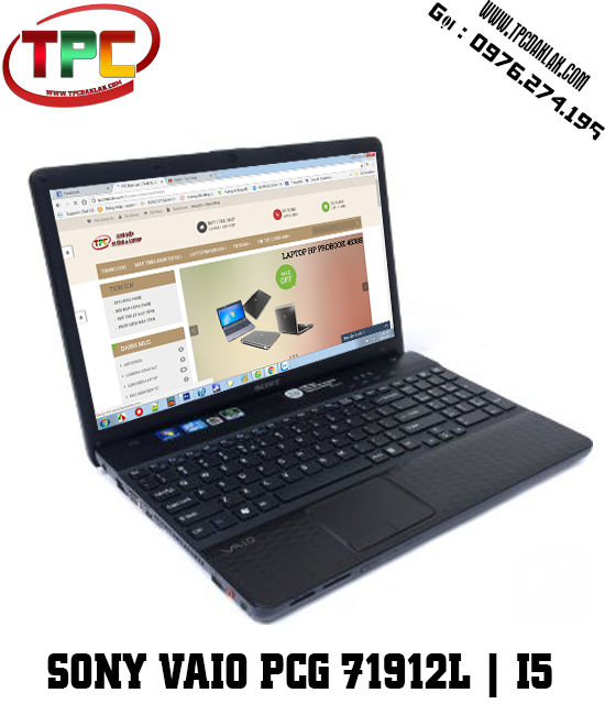 Laptop Sony Vaio PCG 71912L | VPCEH1AFX | CORE I5 - 2520M | RAM 4GB | HDD 500GB | 15INCHES