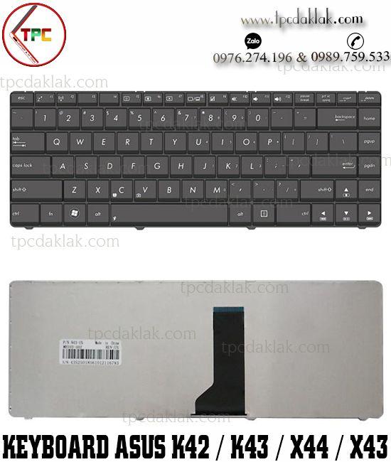 Bàn phím Laptop Asus K42 A42 K42J K42JV A42J K42F X42 X42J K43 A43S | Key Asus K42 tại Đak Lak