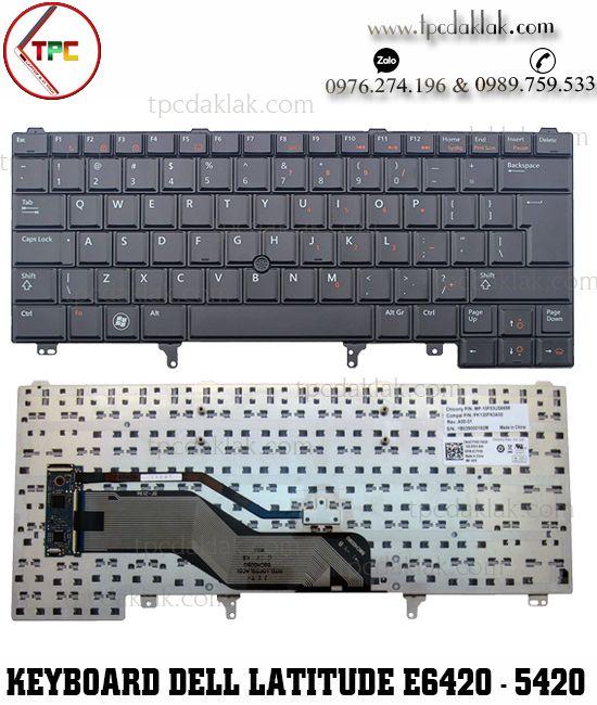 Bàn Phím Laptop Dell LatitudeE6420 E6320  E6430  E5430 E6220 E6431
