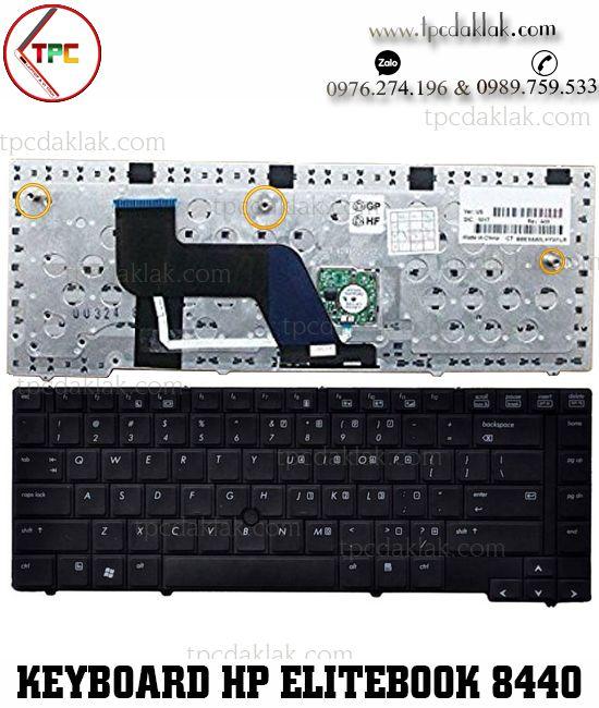 Bàn phím Laptop HP Elitebook 8440p - Key Laptop HP 8440w |Bàn phím Hp Đak Lak