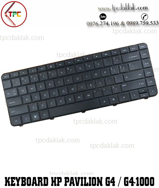 Bàn phím laptop HP pavilion G4, G6, G4-1000, G6-1000 | Keyboard For HP G4 Series