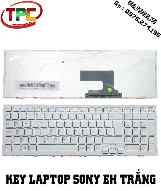 Bàn phím Laptop Sony Vaio VPC-EH VPCEH TRẮNG | LINH KIỆN LAPTOP ĐAK LAK