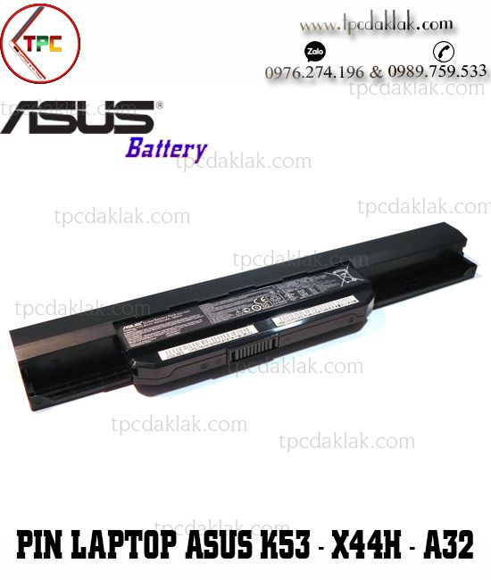 Pin Laptop Asus K53 - X44H - K43 - A42 - X53Q - X54C | Pin laptop Asus DakLak