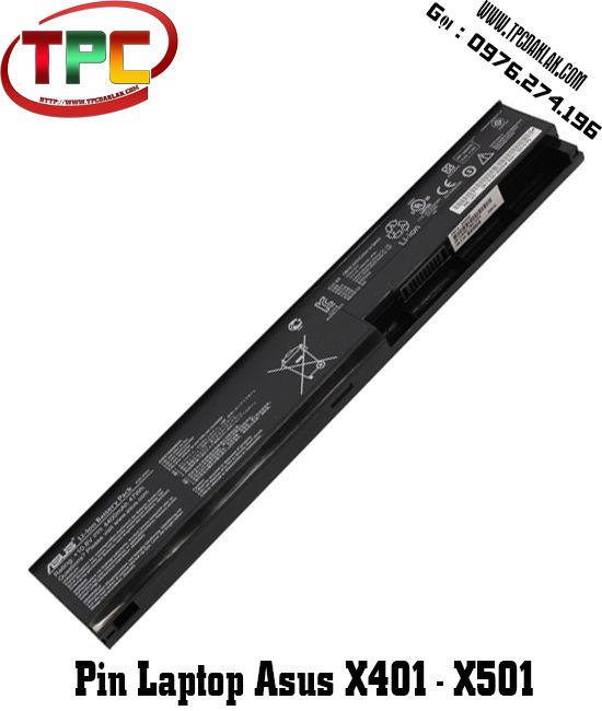 Pin Laptop Asus X401, X402, X501, X502 | linh kiện laptop Đak Lak