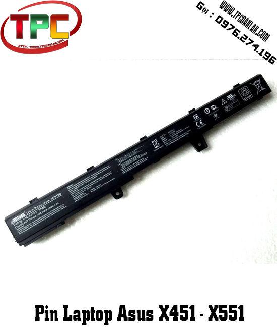 Pin laptop ASUS X451 X551 X451C X451CA X551C X551C F451C | Linh kiện laptop asus Buôn Ma Thuột