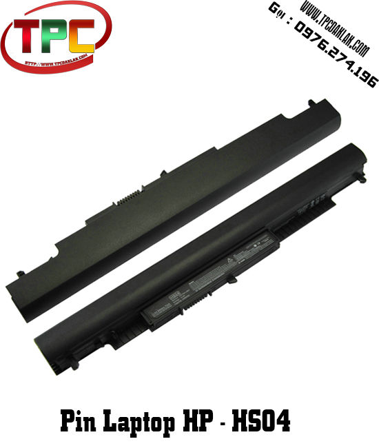 PIN LAPTOP HP HS04, 807612-421, Notebook 14 - 14g - 15 Series | Battery HP HS04