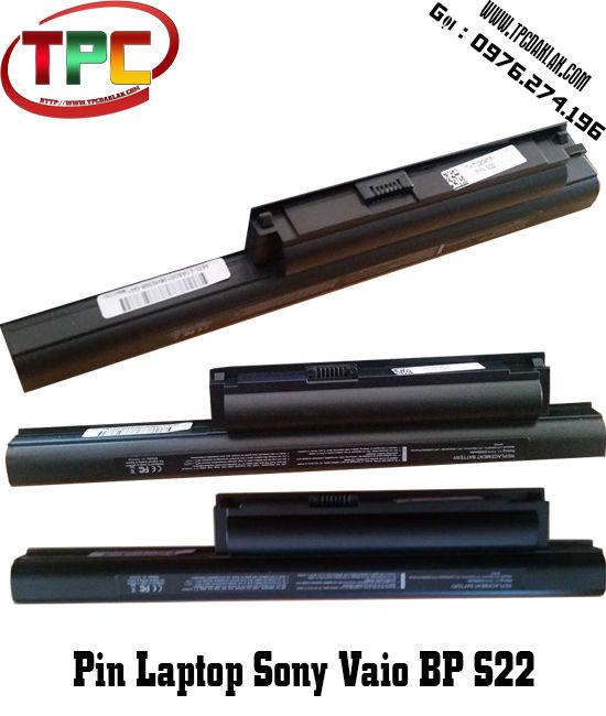 PIN LAPTOP SONY VAIO VGP BP S22 | Linh Kiện Laptop Sony Vaio Đak Lak